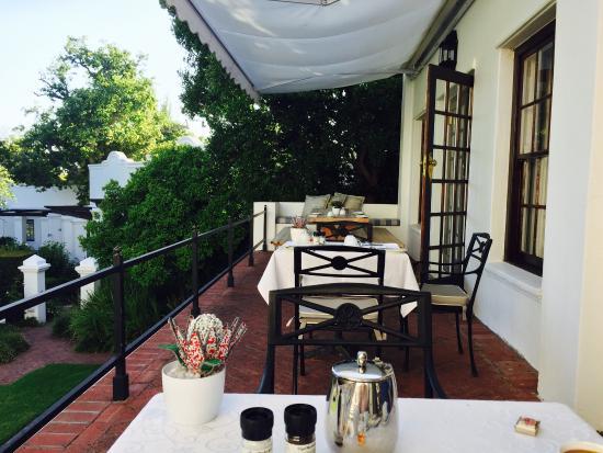 Claremont, Южная Африка: terazza di fuori