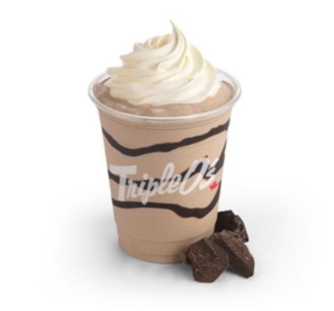 Courtenay, Canadá: Triple O's Chocolate Milkshake