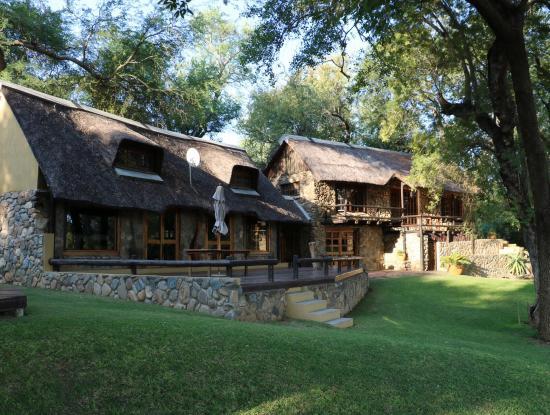 Indlovu River Lodge: La villa Shawu