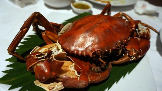 Kan Eang​@Pier​: Grilled crab