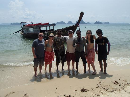Andaman Camp and Day Cruise: the crew
