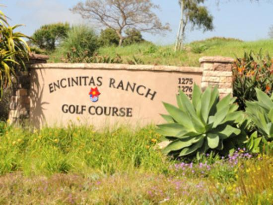 Sign Leading to Encinitas Ranch Golf Course