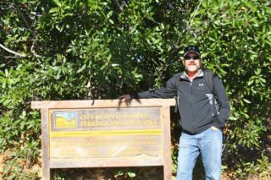 Bishop Peak: Bishops Peak Hike - Sign