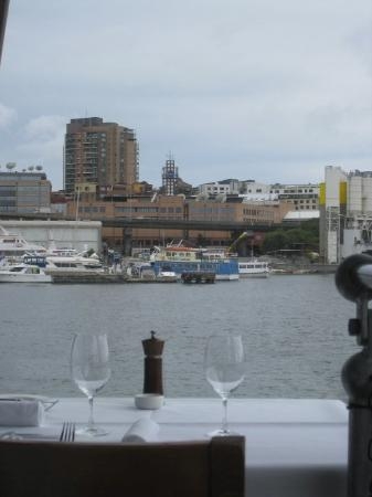 The Boathouse on Blackwattle Bay: 景色