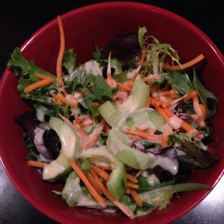 Sushi Omakase: Dinner salad