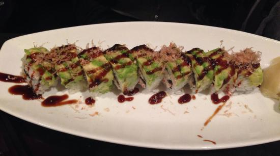 Sushi Omakase: Dragon Roll
