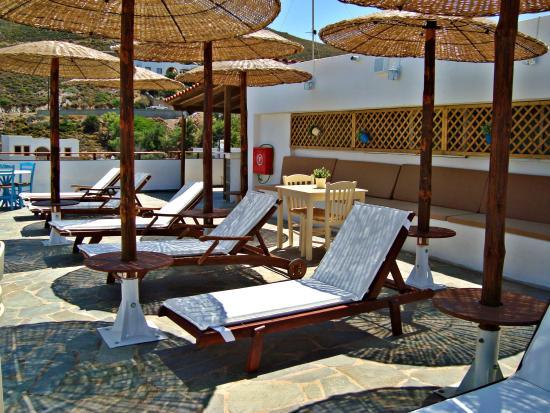 Grikos Hotel: Roof Garden
