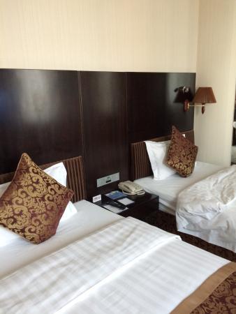 Plaza Hotel Beijing: ツインルーム