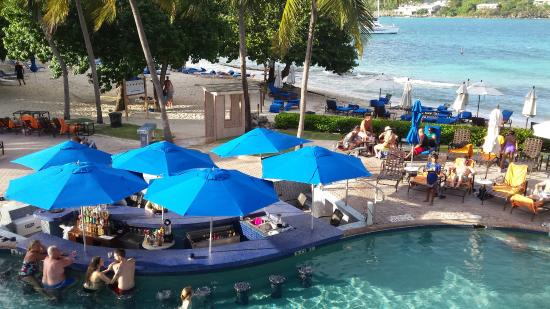 pool and swim up bar picture of sugar bay resort spa east end rh tripadvisor com
