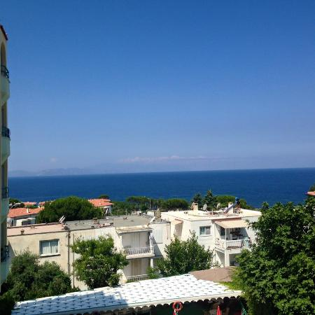 Hotel Albora: Aegean sea sight