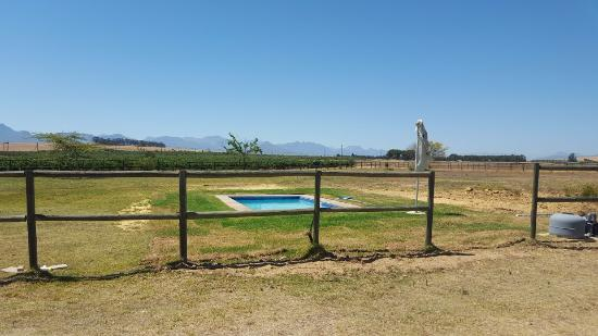 Hermon, Sydafrika: Brand new pool