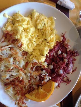 Park Ridge, IL: Corned beef hash