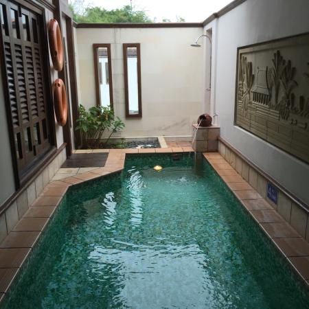 Indoor pool picture of grand lexis port dickson port for Garden pool grand lexis