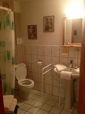 Остхайм, Франция: salle d'eau rdc