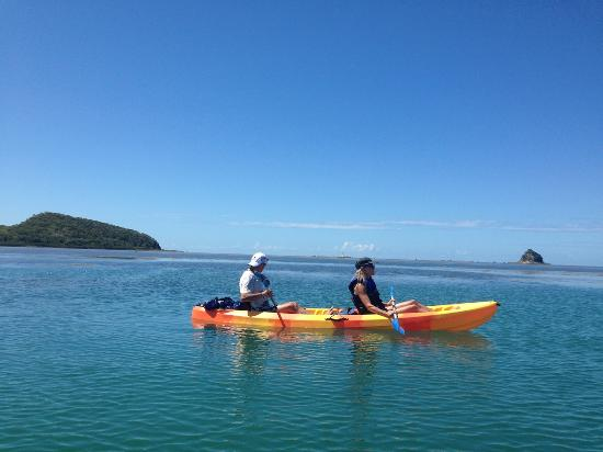 Perfect day to kayak Palm Cove