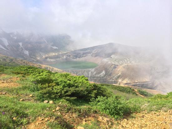 お釜です。 - Изображение Okama Crater, Zao-machi - TripAdvisor