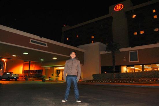 Hilton Concord at Night