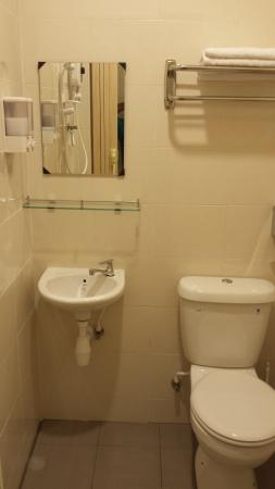 Gelugor, Malasia: Clean Shower Area