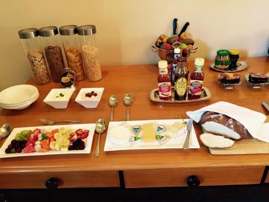 De Hoek Manor: Breakfast