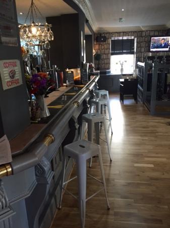The Castle Bar Hotel: Our bar area