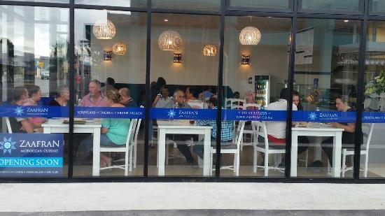 Kaiapoi, New Zealand: Zaafran Moroccan Restaurant & Takeaway
