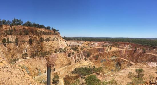 Peak Hill, Australia: surrounding area view