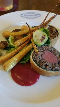 Venison Wellington, The Kingham Plough