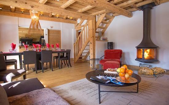 Chalet Cretet : The cosy lounge
