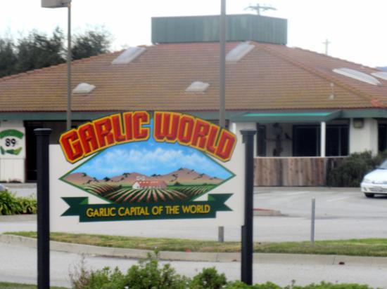 Garlic World, Gilroy, Ca