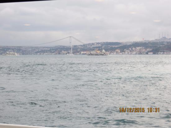 Istanbul, Turkey: Crucero por el Bósforo