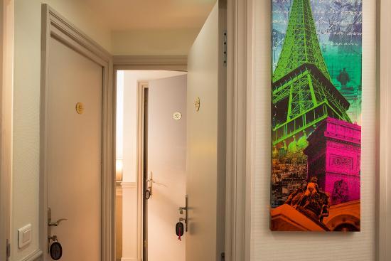 Hotel de la cite Rougemont: Chambres communicantes pour les familles