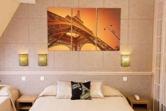 Hotel de la cite Rougemont: Chambre familiale