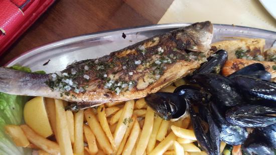 Restaurant Laguna : 2 személyes tál
