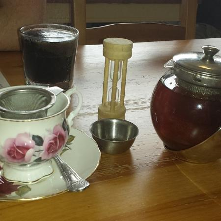 The Crosby Tea Rooms: A large range of loose leaf tea (done properly!)