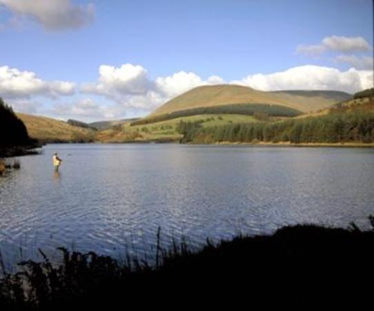 Pandy, UK: Cantref Resevoir, Brecon Beacons