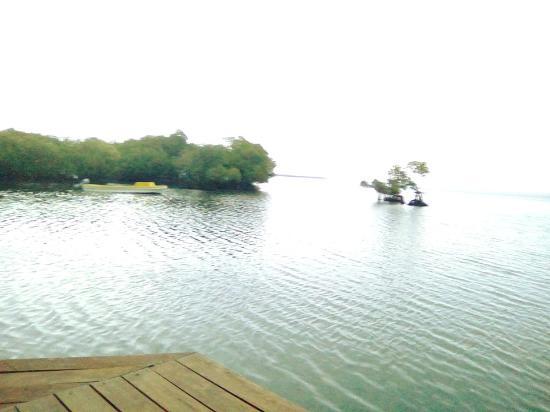 Lakatoro, Vanuatu: view from Senelich Bungalows