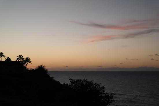 Cliffs at Princeville: view