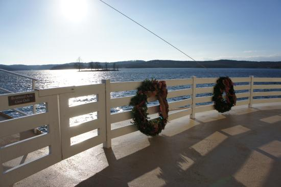 Showboat Branson Belle: on deck
