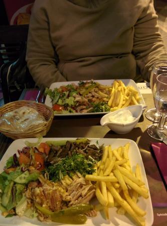 Samaya Grenelle: shawarma