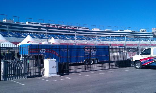 Las Vegas Motor Speedway Weg In Das Oval Picture Of
