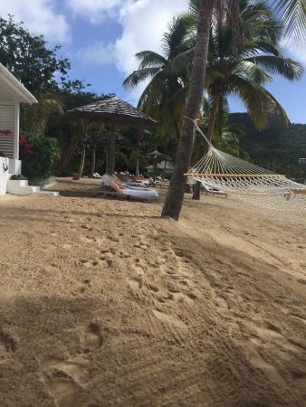 The Inn at English Harbour: Beach