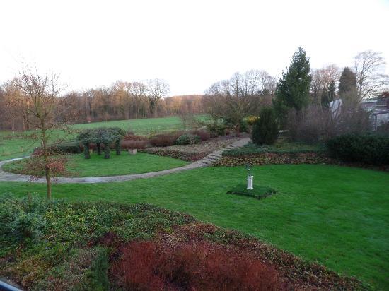De Lutte, Países Bajos: Tuin van het hotel.