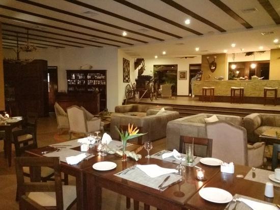 Las Lagunas Boutique Hotel: Dining Room