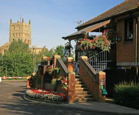 Perfect  Of Tewkesbury Abbey Caravan Club Site Tewkesbury  TripAdvisor