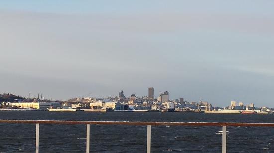 Auberge la Goeliche : view of Quebec City