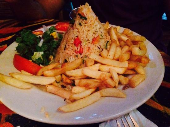 Lava Lounge Bar & Grill: Rice