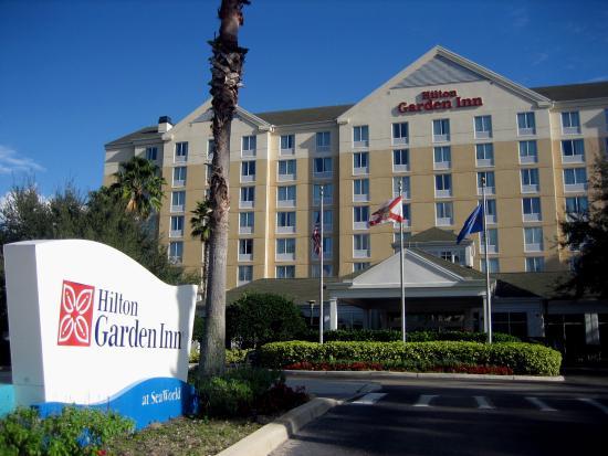 Au Enpool Picture Of Hilton Garden Inn Orlando At Seaworld Orlando Tripadvisor