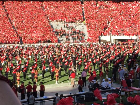 Athens, Джорджия: Sanford Stadium Georgia Band