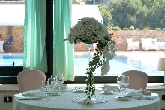 Hotel Gli Dei : coppa fiori