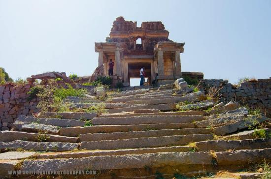 Anantapur, Indien: Ruins of the fort